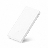 Xiaomi Mi Power Bank 2C Portable 20000mAh QC3.0 Externe Backup-Kraftwerk Große Kapazität Schnellladung Safe für iPhone X 8 Plus Samsung HTC Smartphones Stilvolle Portable Ultradünne Leichte Anti-Staub-Durable