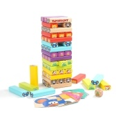 Youpin Topbright Solid Wooden Animal Cascading Building Block Toy Set