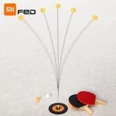 Racchetta da famiglia flessibile Xiaomi Youpin FED da tennis da tavolo con palline da 5 pezzi
