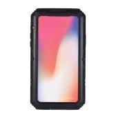 Para iphone 5 5s 6 6 s plus 7 8 além disso x caixa protetora ip68 à prova d 'água de metal shell bumper choque-absorção anti-risco