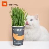 Корм для кошек Xiaomi Furrytail A CUP OF CATNIP Предотвращение Trichobezoar домашних кошек и зубов кошек с чистой посадкой мяты