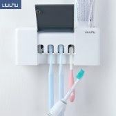 Xiaomi Youpin Liushu Toothbrush Sterilizer Box 4000mAh Rechargeable UV Disinfection Toothpaste Dispenser Tooth Brush Holder from Xiaomi youpin