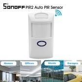 Sonoff Sensor Automático PIR2 PIR Dual Infravermelho IR Detector De Movimento Sem Fio 433 Mhz Sensor RF Inteligente Home Automation Sistema De Alarme De Segurança para Alexa Google
