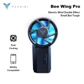 Xiaomi Flydigi Bee Wing Pro Phone Cooler Game Cooling Dual-effect Mobile Phone Radiator Physical Semiconductor Cooling Colored Light For Phones with 65-85mm