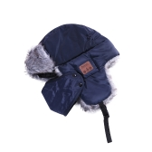 新しい冬の帽子耳フラップファーキャップマスクスカーフ雪キャップワイヤレスBT屋外スポーツハンズフリーMp3スピーカーマジックミュージックスマートハットブラック