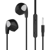UiiSii U1 Wired Headset Auricolari in-ear Auricolari Cuffie da 3,5 mm Heavy Bass con microfono