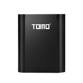 Caricabatteria TOMO M4 Caricatore USB esterno 4 * 18650 Power Bank con display LCD intelligente per iPhone X Samsung S8 Nota 8