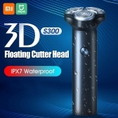 Xiaomi Mijia S300 Electric Shaver 3D Floating IPX7 Waterproof Razor Type-C Charging Dry & Wet Use Beard Shaving