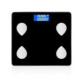 Умные весы для измерения жира в организме Подключение BT Точные электронные умные весы для тела Несколько данных о здоровье Умное приложение Стекло ЖК-дисплей Цифровые весы Фитнес-весы для измерения здоровья