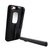TASHELLS Custodia pieghevole per telefono cellulare selfie per iPhone 6 Plus 6S Plus Custodia multifunzione portatile per telefono autoadesivi anti-graffio Anti-shock