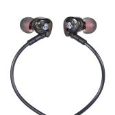 FSHANG Q8 3.5mm Dans L'oreille Écouteur Écouteur Portable Sport Stéréo Casque Courir Mains Libres avec Micro pour iPhone 6 Samsung S8 + Note 8