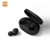 Versão Global Xiaomi Redmi AirDots Fones de Ouvido Sem Fio Mi True Wireless Earbuds