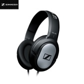 Sennheiser HD201 Over Ear Headphone Gaming Headset Com Fio de 3.5mm Fones de Ouvido Computador Microfone HD