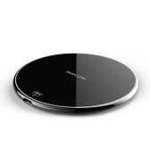 W8 10W Wireless Qi Standard Charger Charging Pad Stand for iPhone X 8 Samsung Galaxy S8+ Note 8