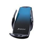 C1 Беспроводное автомобильное зарядное устройство с автоматическим зажимом для держателя телефона с вентиляционным отверстием