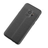 Cas de protection de téléphone pour la couverture de la galaxie S9 de Samsung 5.8inch qui respecte l'environnement élégant anti-éraflure portatif anti-poussière durable