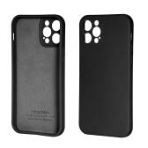 6,1-Zoll-Silikon-Telefonhülle Ganzkörperschutz Stoßfeste Hülle mit weichem, kratzfestem Mikrofasertuch als Ersatz für das iPhone 12 Pro