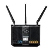 Двухдиапазонный Gigabit WiFi игровой маршрутизатор ASUS RT-AC86U AC2900 с интеллектуальным беспроводным интернет-маршрутизатором MU-MIMO