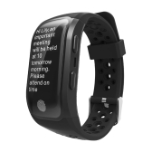 S908 GPS IP68 Impermeabile Fitness Tracker Smart Band Watch Heart-rate BT Sport Wristband Chiamate Notification Activity Monitoraggio Monitoraggio del sonno per iPhone 8 Plus Samsung S8 + iOS8 Android4.3 o superiore