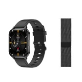 Q18 1.7-inch Touchscreen Smart Bracelet Smart Sports Watch with Dual Strap