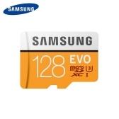SAMSUNG EVO Tarjeta MicroSD 128GB 100Mb / s Class10 U3 U1 SDXC Grado EVO Tarjeta Micro SD Tarjeta de Memoria Tarjeta Flash TF
