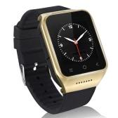 "ZGPAX S8 3G WCDMA 2G GSM MTK6752 1.2GHz Dual Core Smart Watch Phone 1,54"" HD 240 * 240 pixel schermo Android 4,4 512 M RAM + 4G ROM 5MP fotocamera GPS WiFi MP3 MP4 FM telefono Record della Rubrica"