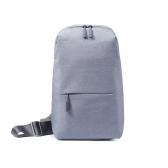 Original Xiaomi Multifuncional Sling Bag Leisure Chest Bag Mochilas de grande capacidade Mochila de poliéster para homens Mulheres