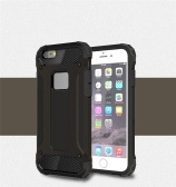 Para o caso do iPhone 6 Plus / iPhone 6S Plus Slim Fit Dual Layer capa dura traseira Bumper Shock Absorption de protecção & Skid-prova Anti-Scratch Case para Apple iPhone 6 Plus / 6S mais de 5,5 polegadas