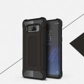 Pour Samsung Galaxy Note 8 cas Slim Fit double couche couverture arrière dur pare-chocs de protection antichoc et antidérapant Anti-Scratch Case 6.3 pouces