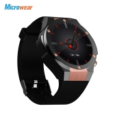 Microwear H2 Smart Watch Phone 1 GB di RAM 16 GB ROM