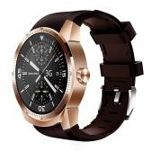 """K98H 3G Smart Watch Téléphone Appel 400 mAh Grande Batterie MTK6572A Dual Core Android 4.1 IPS 1.3 """"240 * 240 P Anti-rayures Affichage 4 GB ROM + 512 Mo RAM Moniteur de Sommeil Moniteur de Sommeil Rappel Intelligent Anti-perdu GPS Magnétique de Charge"""