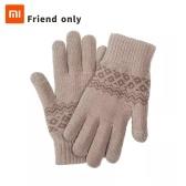 Xiaomi Youpin FO Finger Touchscreen-Handschuhe für Frauen Männer Winter Warme Samthandschuhe für Bildschirm Telefon Tablet Geburtstag Weihnachtsgeschenk