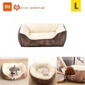 Xiaomi Youpin Pet Мягкая кровать для собак Кошки Съемный питомник Pet Bed Nest Anti-Slip Водонепроницаемая основа Машинная стирка Прочные товары для животных