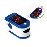 Pulsioxímetro de dedo Monitor de saturación de oxígeno en sangre Pantalla digital OLED giratoria de 2 vías Apagado automático Medición rápida Monitor de frecuencia cardíaca Medición de frecuencia cardíaca con cordón