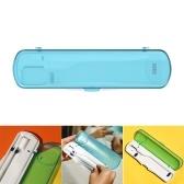 Fanglianmao portátil UV desinfectante para cepillos de dientes estuche para cepillos de dientes soporte para cepillos de dientes para viajes / negocios / hogar Efecto de esterilización hasta 99,9%