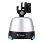 PULUZ Pan-Tilt Panoramic Head с пультом дистанционного управления 360-градусная поворотная панель для смартфонов GoPro DSLR Camera