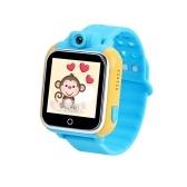 G75 3G Relógio Inteligente GPS Relógio de Bebê Kid SOS Chamada Localizador Localizador Anti Perdido Monitor de 600 mAh Grande Bateria para iOS Android Traker