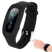 Segunda mano SH03 Ligero Bluetooth4.0 Tracker Inteligente Podómetro Pulsera Actividad inteligente Pulsera Tiempo / Calorías / Sleep Monitor para iPhone Android Smartphone