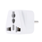Universal US to EU Plug USA to Euro Europe Travel Wall AC Power Charger Outlet Adapter Converter Copper Material