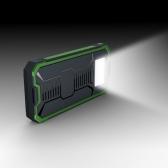 Chargeur de panneau d'énergie solaire 10000mAh 2 ports USB Chargeur portable portable rechargeable pour téléphone intelligent