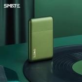 SMATE Portable Shaver Men USB Wiederaufladbarer Rasiermesser Metall Bartschneider Taschengröße Schlanke Rasiermaschine 7000 U / min Motor Mit Typ C Schnellladeanschluss