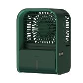 Ventilador portátil de humidificación de escritorio con ventilador de aire acondicionado MIIIW