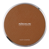 NILLKIN Magic Disk Ⅲ Caricabatteria senza fili (Fast Charge Edition) Qi Standard Smart Chip Protezione di sicurezza per la protezione di sicurezza Enelgy Wireless Fast Charger wireless per iPhone 8 X Samsung Galaxy S8 Nota 8
