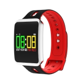 TF1 Smart Band OLED Touch Screen Motion Heart Rate Blood Pressure Sleep Monitoring Smart Bracelet Calls & Apps Reminder 100mAh Long-lasting Battery