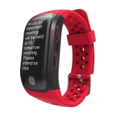 S908 GPS IP68 imperméable à l'eau Fitness Tracker Smart Band montre Heart-Rate BT Sport bracelet appels notification d'activité Suivi sommeil moniteur pour iPhone 8 Plus Samsung S8 + iOS8 Android4.3 ou au-dessus