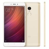 "Xiaomi redmi Nota 4 Smartphone 4G-LTE MTK Helio X20 2.1GHz 64-bit Deca Núcleo 5.5 ""2.5D FHD 1920 * 1080 + 3G 32G 5MP 13MP Câmera Dupla Fingerprint metal Corpo ultrafinos 4100mAh"