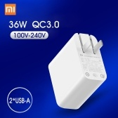 Xiaomi USB Charger 36W US Plug Power Adapter