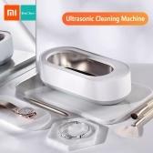 Xiaomi Youpin EraClean Macchina per pulizia professionale ad ultrasuoni 45000Hz Vibrazione ad alta frequenza leggera per occhiali Anelli gioielli Monete Giocattoli