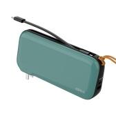 IDMIX CH08 USB C Быстрое зарядное устройство GaN PD 65 Вт Зарядное устройство с портами USB C + USB A 20000 мАч Power Bank с выходом PD 30 Вт Совместимость с Macbook iPhone iPad Nintendo Switch Ноутбуками Galaxy и др.