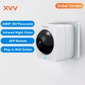 Global Version Xiaovv Smart Panoramic Camera Outdoor Camera 360° 1080P HD IP High Definition Infrared Night Vision Home Security Cameras Working With APP